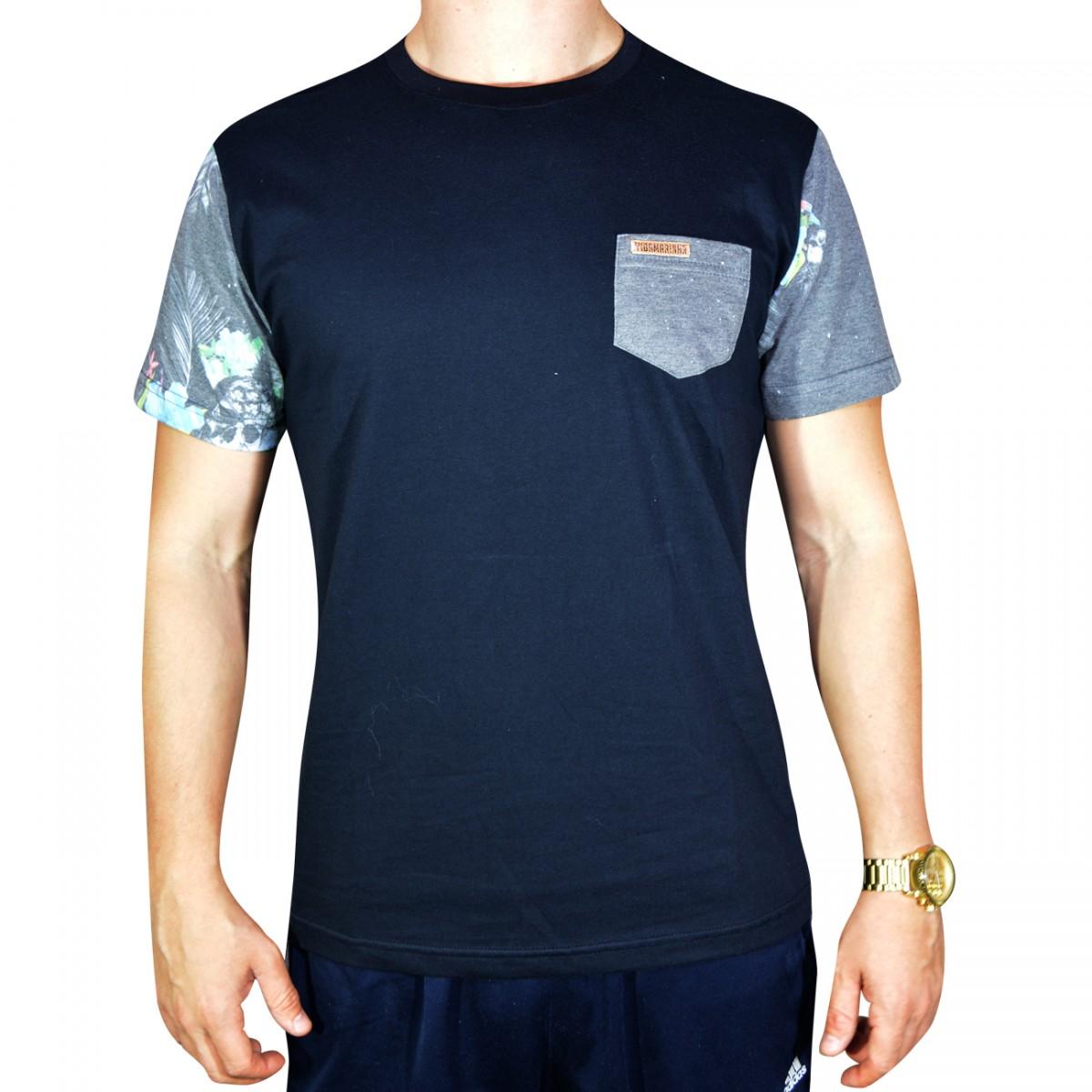 7a3df3104a5 Camiseta Vida Marinha 2217 CM2217 - Preto - Chuteira Nike 7486f68f969d5