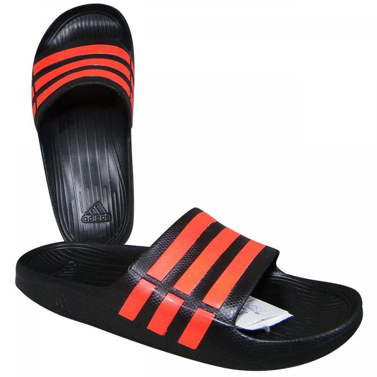 d13f4693a98fef Chinelo Adidas Duramo Slide