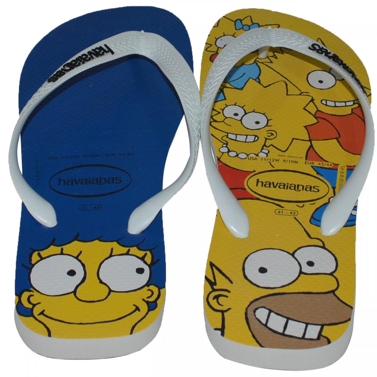 e13145ccb9 Chinelo Havaianas Simpsons 4.137.889 0001 - Branco - Chuteira Nike ...