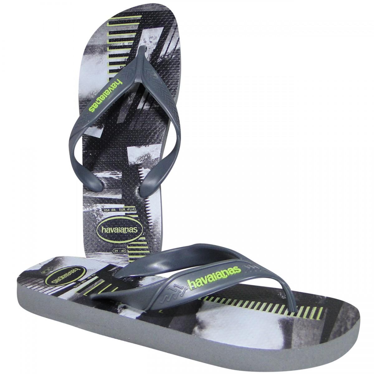 efccb0d4d7c876 Chinelo Havaianas Surf 4.000.047 5178 - Cinza Aço - Chuteira Nike ...
