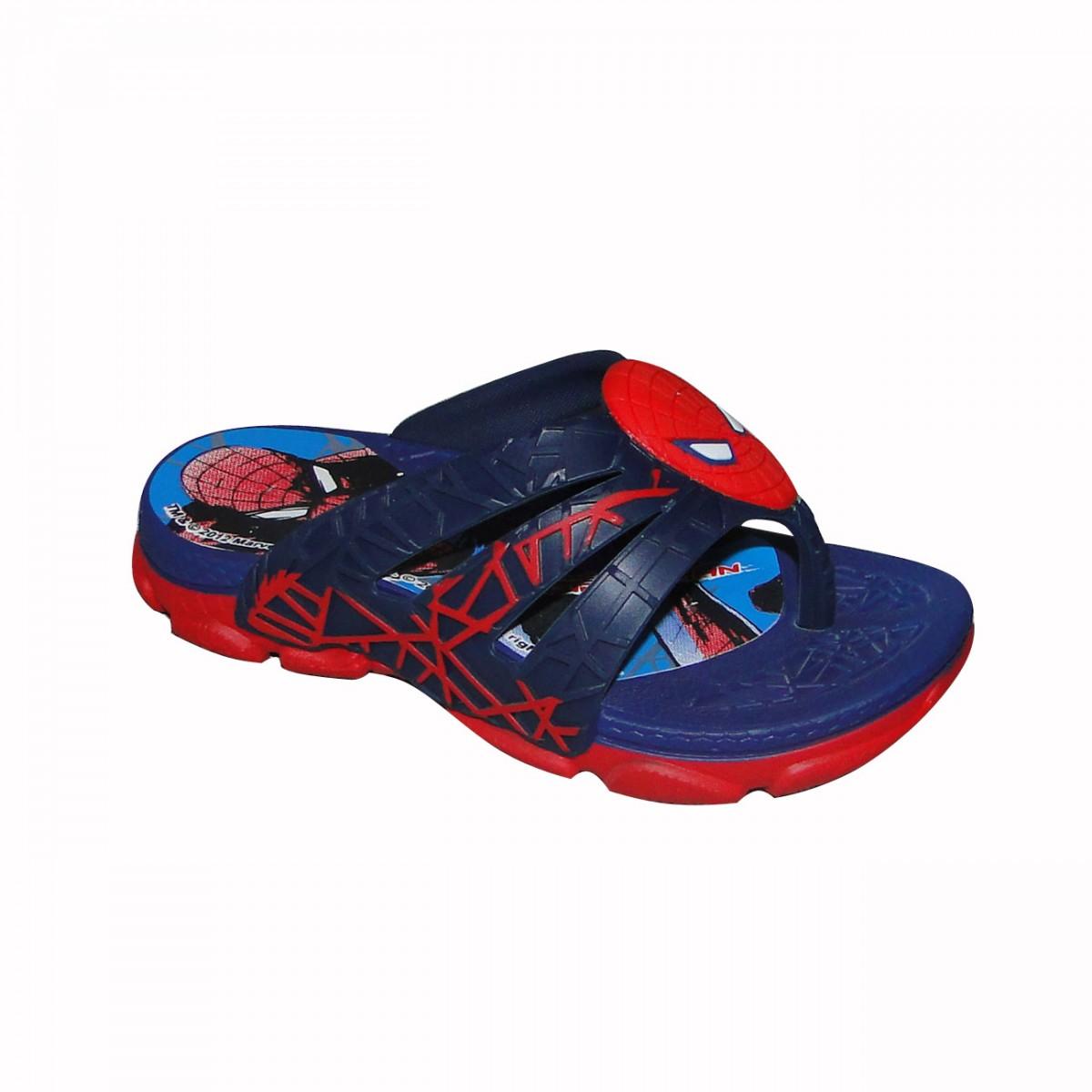 Chinelo Homem Aranha Ref.20931 20931-22056 - Azul Vermelho - Chuteira Nike bed29e11f6fbe