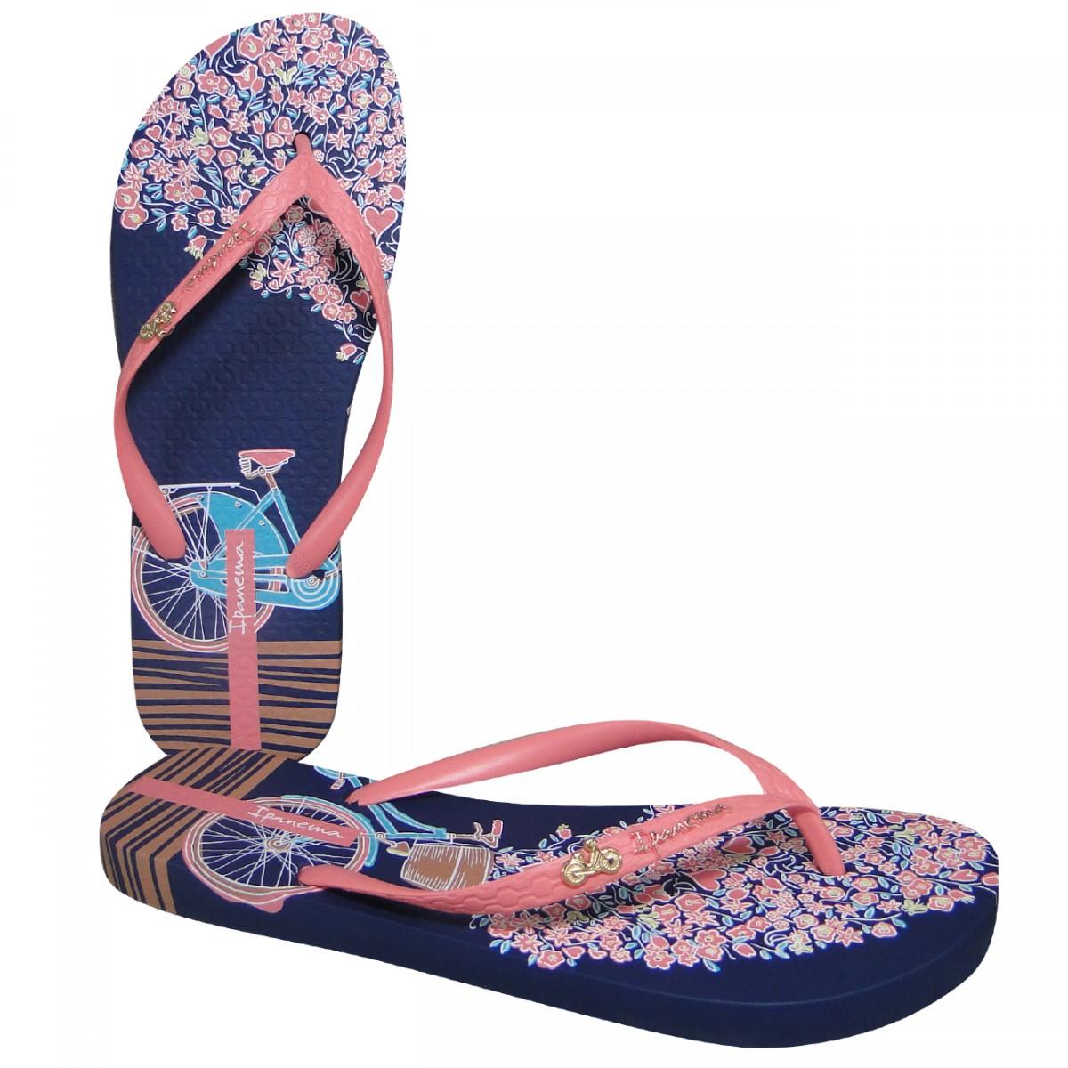 2a9fb069688 Chinelo Ipanema 25601 Mari 25601 20502 - Azul/Rosa - Chuteira Nike, Adidas.  Sandalias Femininas. Sandy Calçados