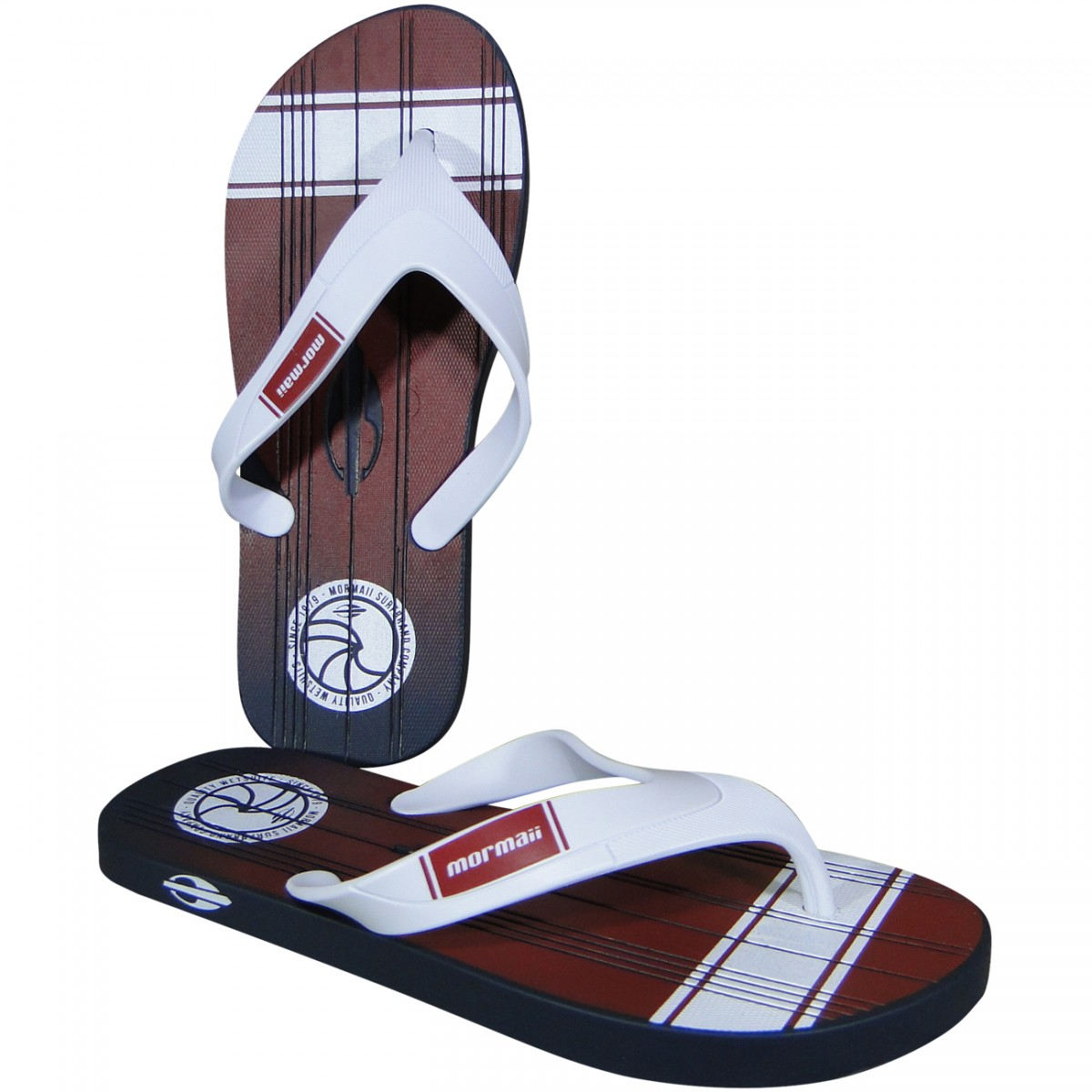 752e07deb3 Chinelo Mormaii Tropical Pro 11060 11060 - 24414 - Azul Branco Bordo -  Chuteira Nike