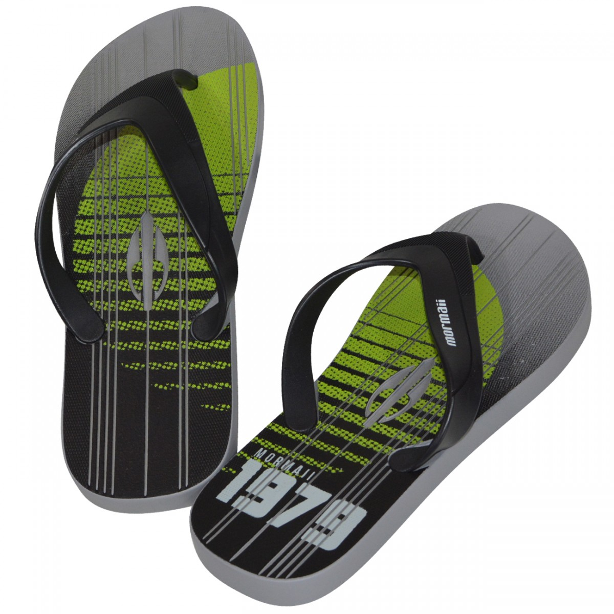 a083bf5bed Chinelo Mormaii Tropical Pro 11060 11060 - 23241 - CINZA PRETO VERDE -  Chuteira Nike