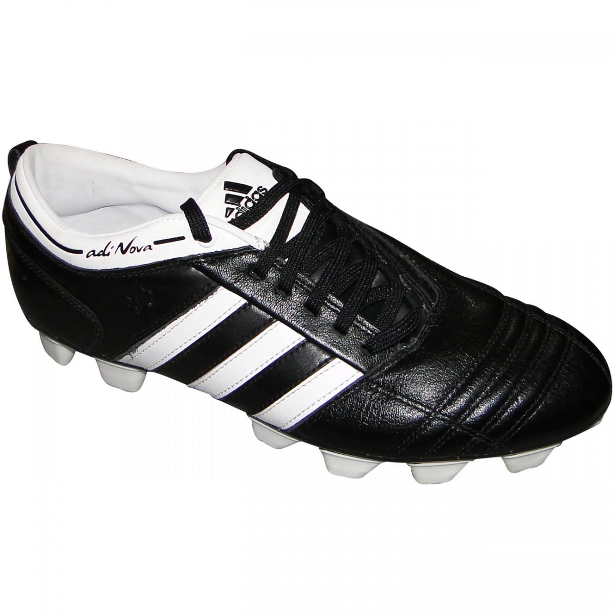 b5018c35d2 Chuteira Adidas Adinova Trx 9864 - PRETO BRANCO - Chuteira Nike ...