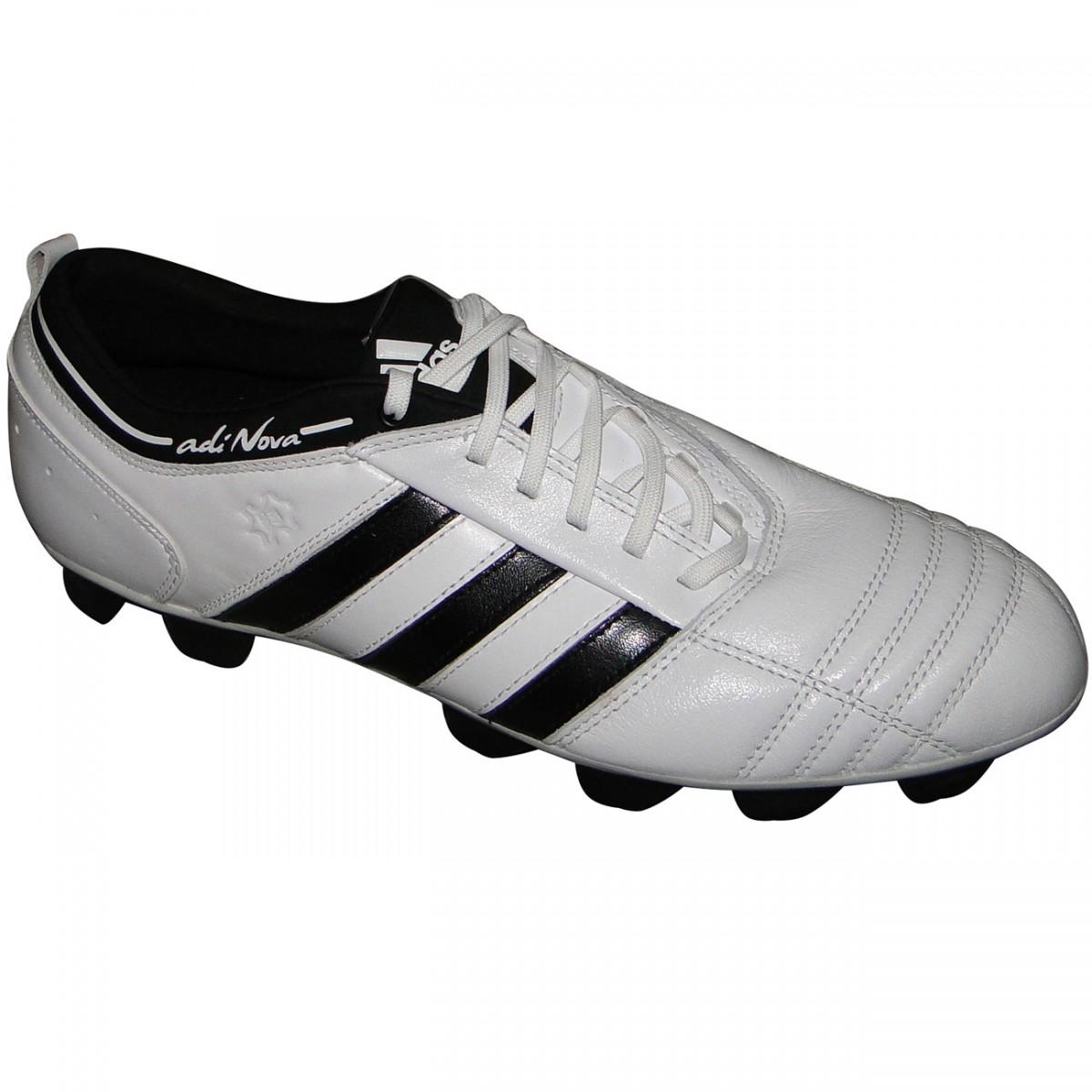 048b6f593c Chuteira Adidas Adinova Trx 9864 - BRANCO PRETO - Chuteira Nike ...