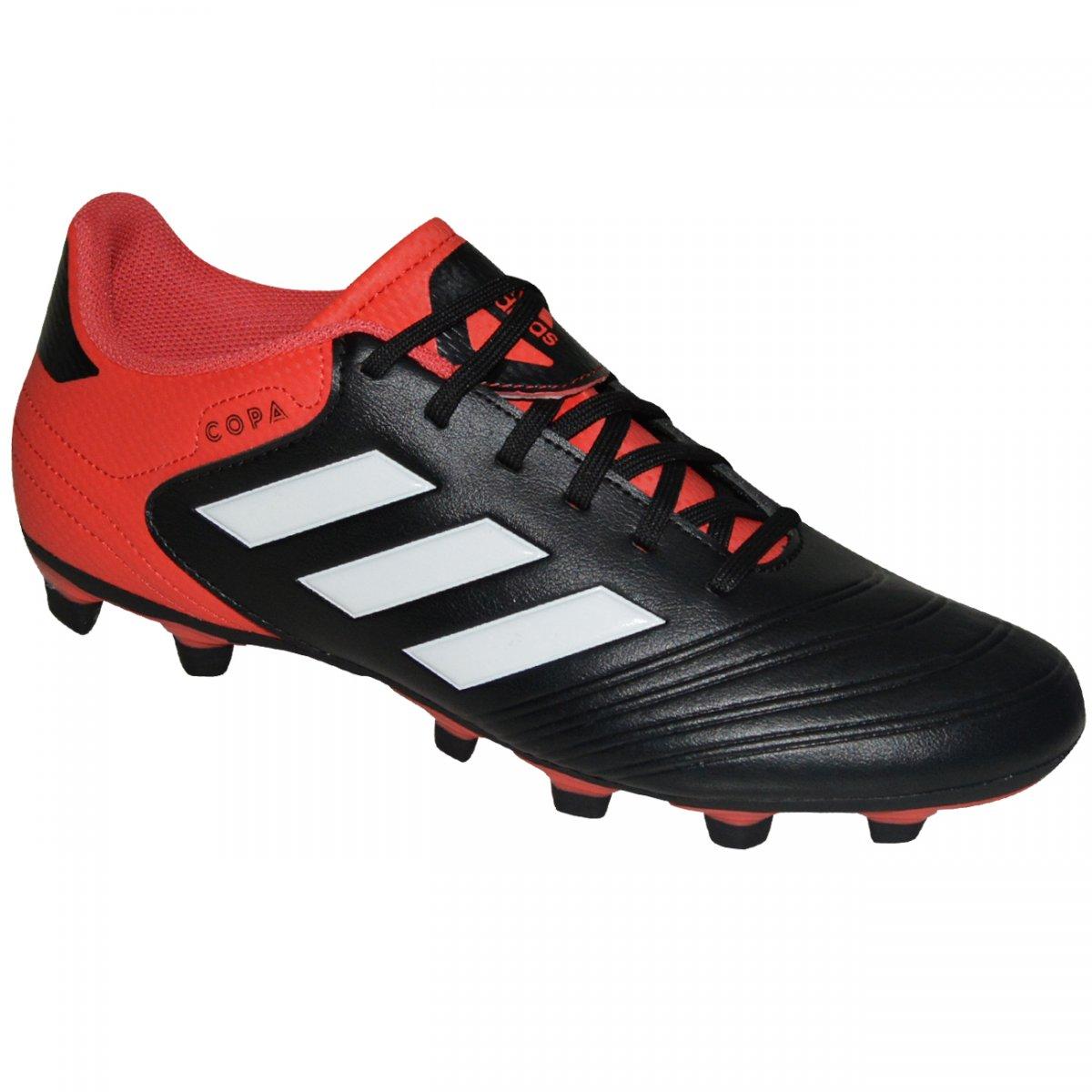 1715b87c4c Chuteira Adidas Copa 18.4 CP8960 - Preto vermelho - Chuteira Nike ...