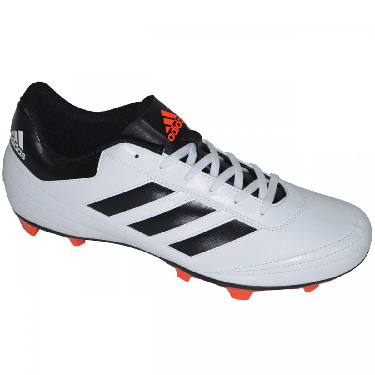 ac74305436 Chuteira Adidas Goletto VI AQ4282 - Branco Preto - Chuteira Nike ...