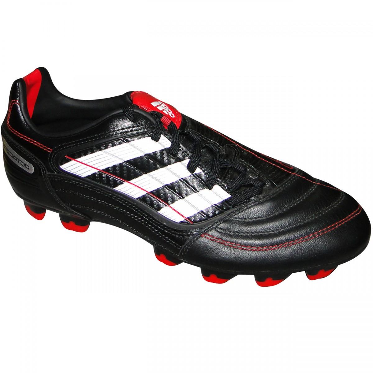 9b0b2fd13c651 Chuteira Adidas Predator Absolado X 4072 - PRETO/BRANCO/VERMELHO - Chuteira  Nike, Adidas. Sandalias Femininas. Sandy Calçados