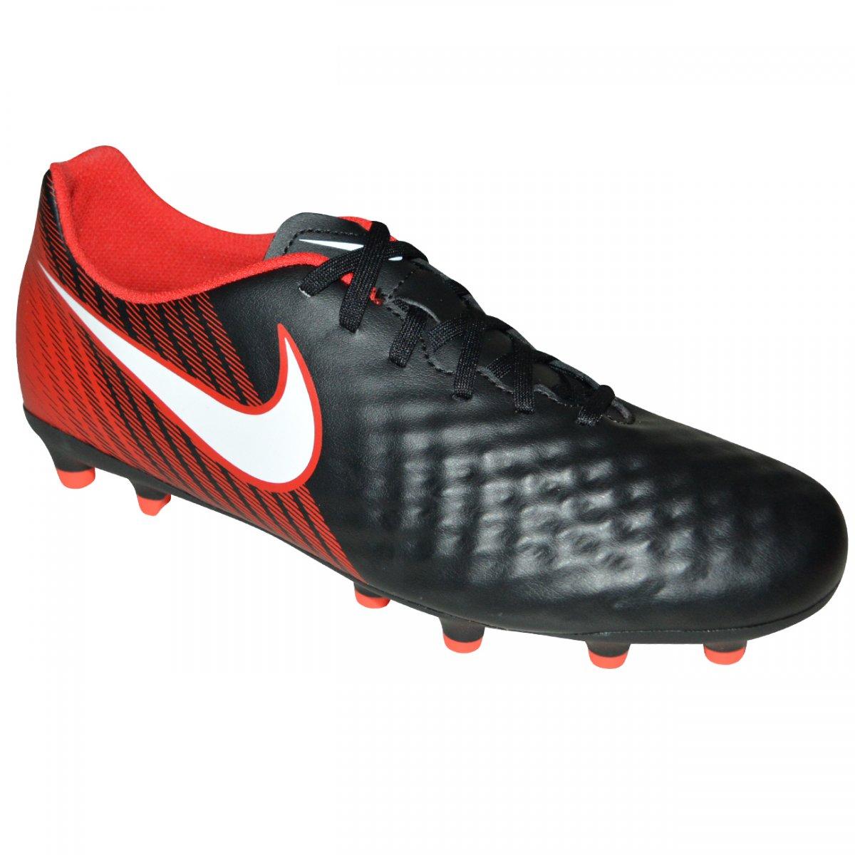 4c78de794e Chuteira Nike Magista Ola II 844420 061 - Preto vermelho branco - Chuteira  Nike