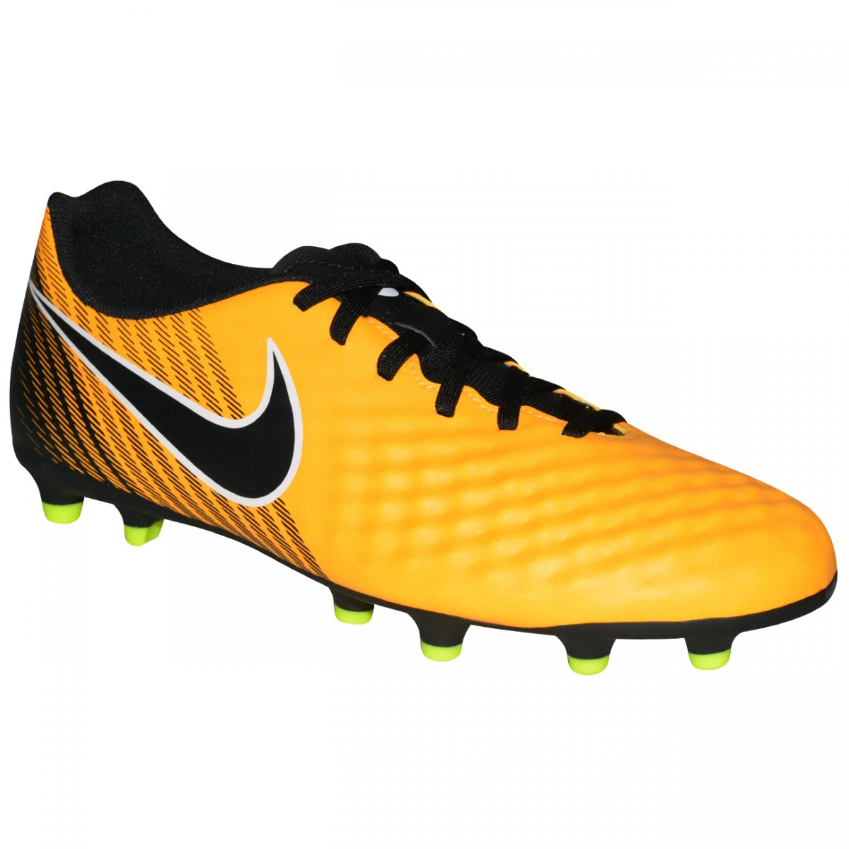 791ef4563b Chuteira Nike Magista Ola II 844420 801 - Amarelo preto - Chuteira Nike