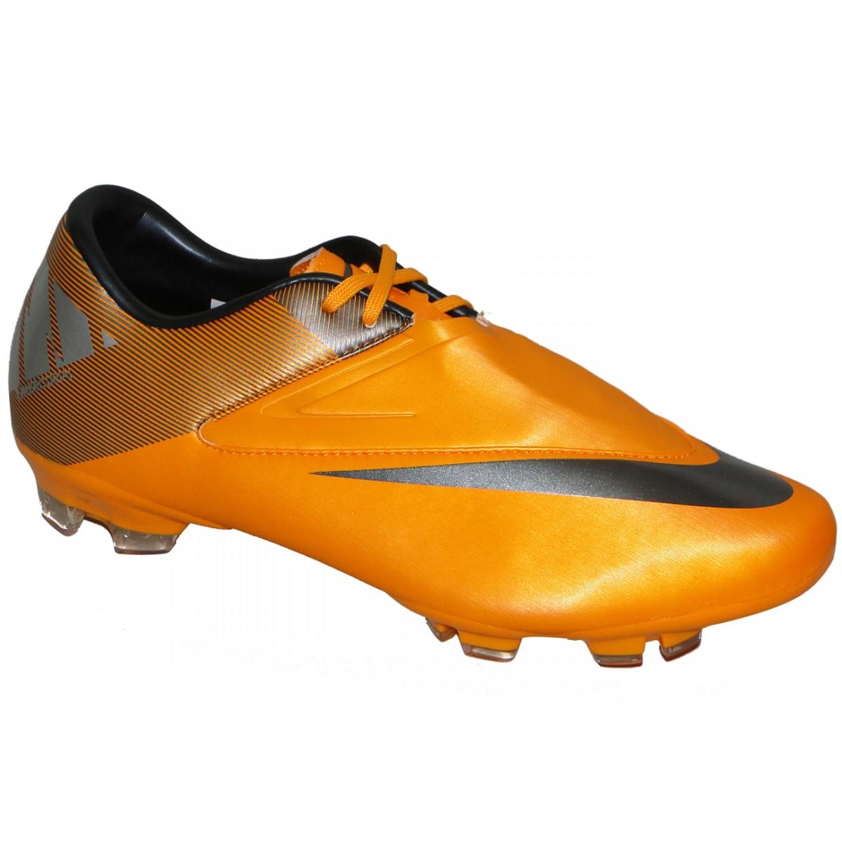 ec795358bb Chuteira Nike Mercurial Glide Ii 9231 - LARANJA PRETO - Chuteira Nike