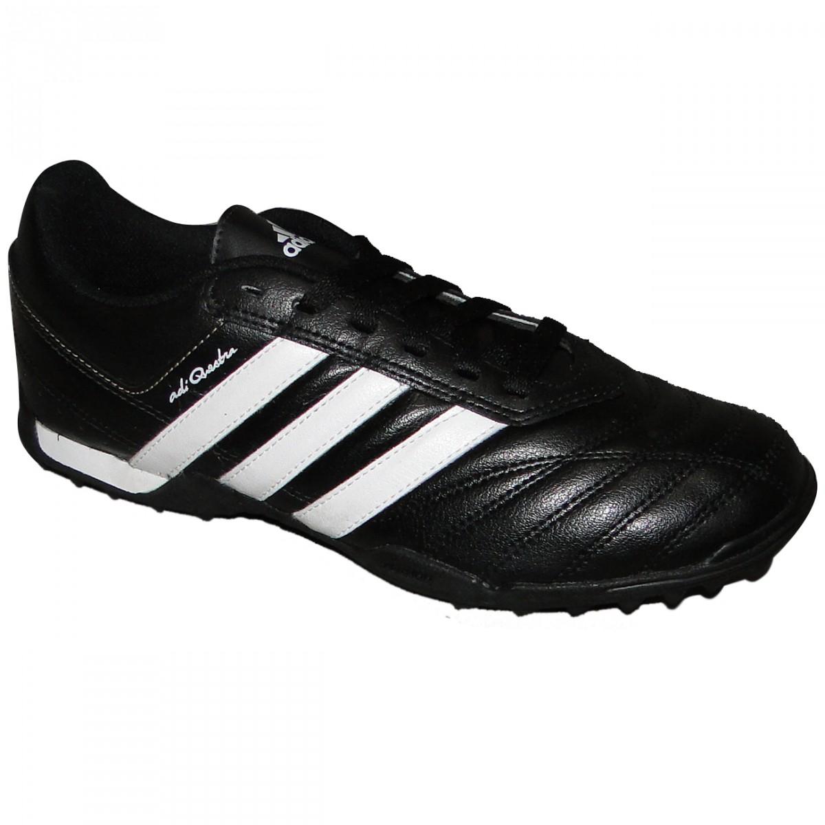 200682c776 Chuteira Society Adidas Adiquestra 1963 - PRETO BRANCO - Chuteira Nike