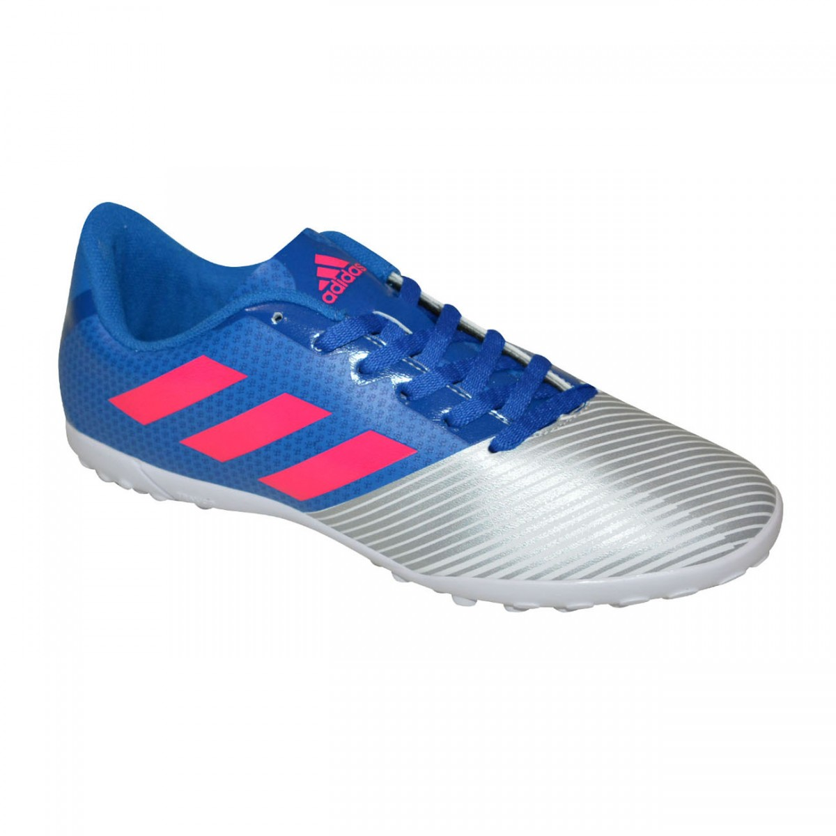 585d82bf4b Chuteira Society Adidas Artilheira II Juvenil H68445 - Azul Prata - Chuteira  Nike
