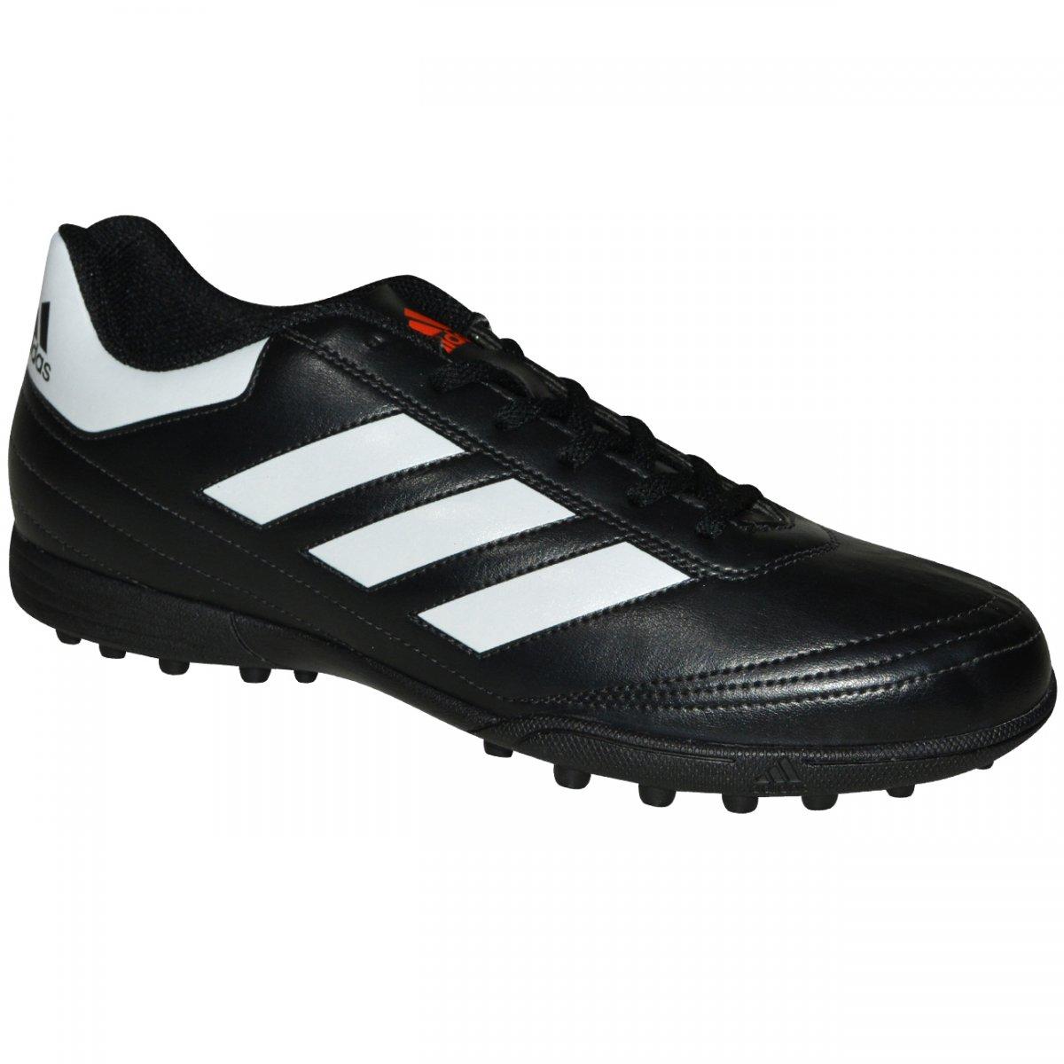 Chuteira Society Adidas Goletto VI AQ4299 - Preto branco - Chuteira Nike 2811341734de4