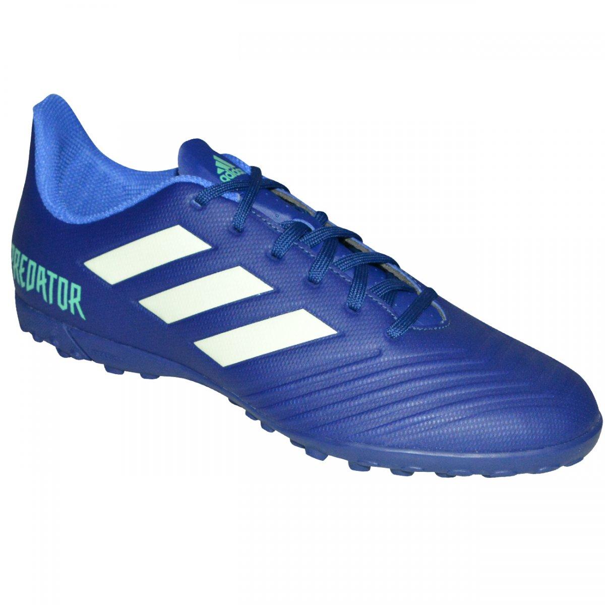 Chuteira Society Adidas Predator Tango 18.4 CP9274 - Marinho branco -  Chuteira Nike db0457a45c83b