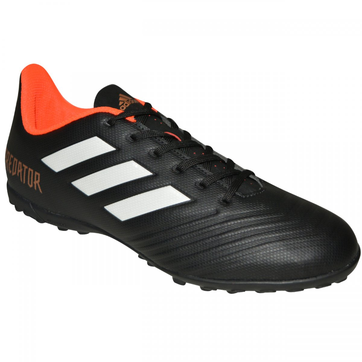 529724b264 Chuteira Society Adidas Predator Tango 18.4 CP9272 - Preto branco coral -  Chuteira Nike