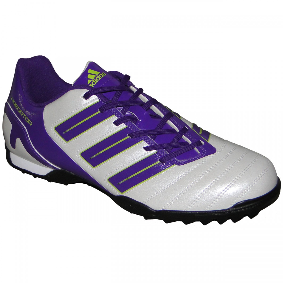 0a46be14f38ec Chuteira Society Adidas Predito 3049 - BRANCO ROXO - Chuteira Nike ...
