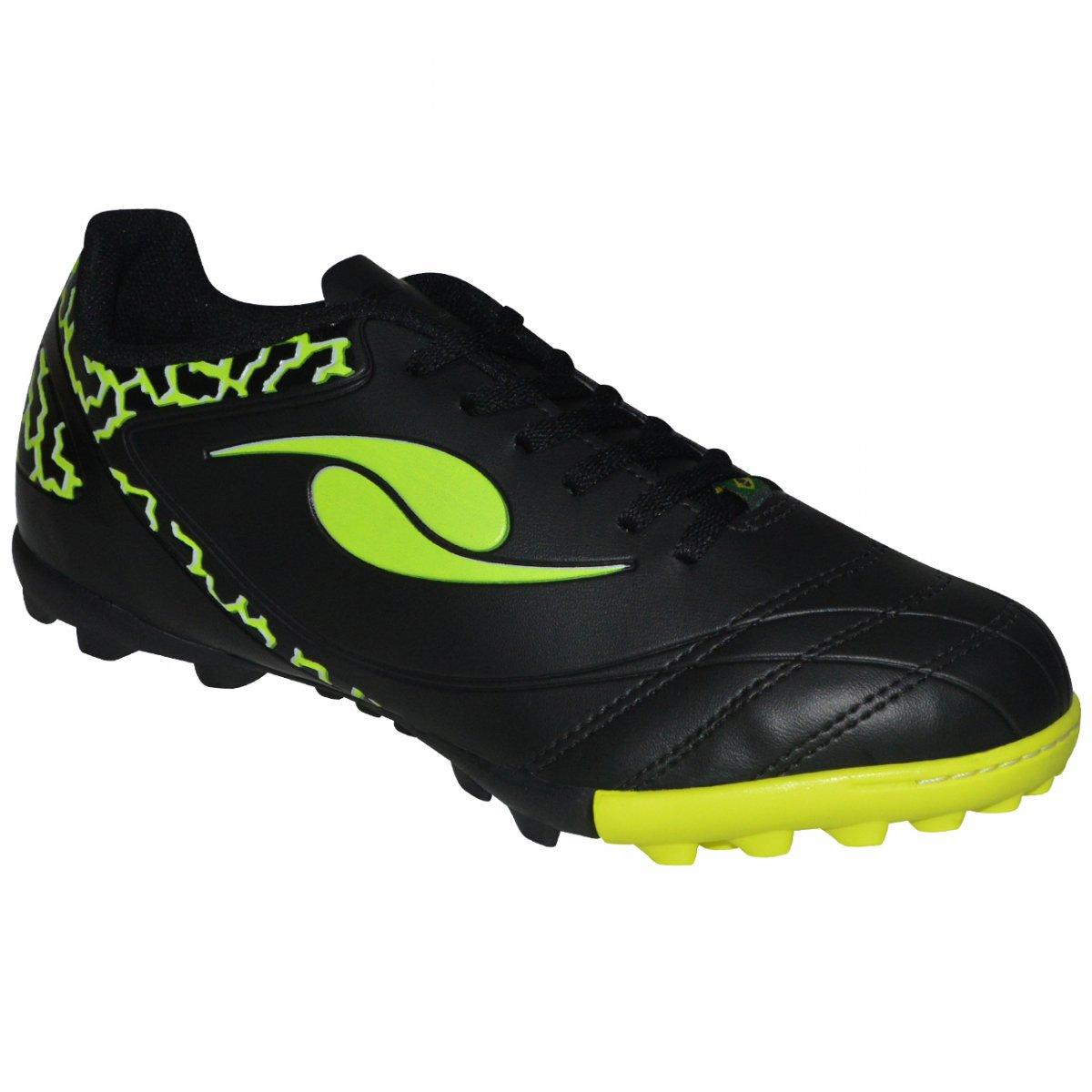 08cc94102bdc6 Chuteira Society Dal Ponte Eletric 81229797 - Preto limão - Chuteira Nike