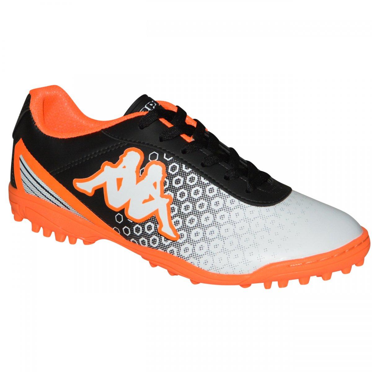 4530eed12bb61 Chuteira Society Kappa Modena I 8301 10.22.46 - Preto/laranja - Chuteira  Nike, Adidas. Sandalias Femininas. Sandy Calçados