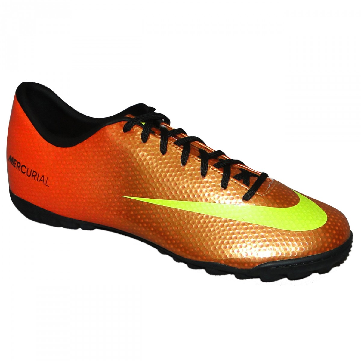 90b8d597c0699 Chuteira Society Nike Mercurial Victory IV 558561 700 - Laranja ...