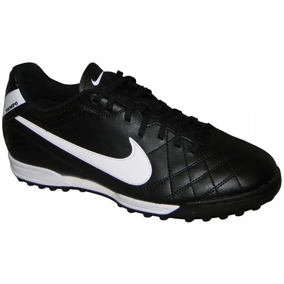 Chuteira Society Nike Tiempo Natural Iv 454334 018 - PRETO BRANCO LARANJA - Chuteira  Nike e3b1684b76ca4