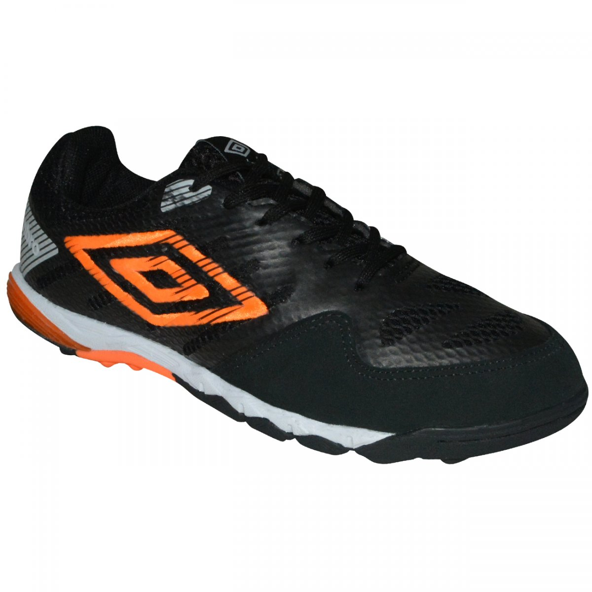 dc60979a2 Chuteira Society Umbro Pro IV 801385 - Preto/laranja/prata - Chuteira Nike,  Adidas. Sandalias Femininas. Sandy Calçados