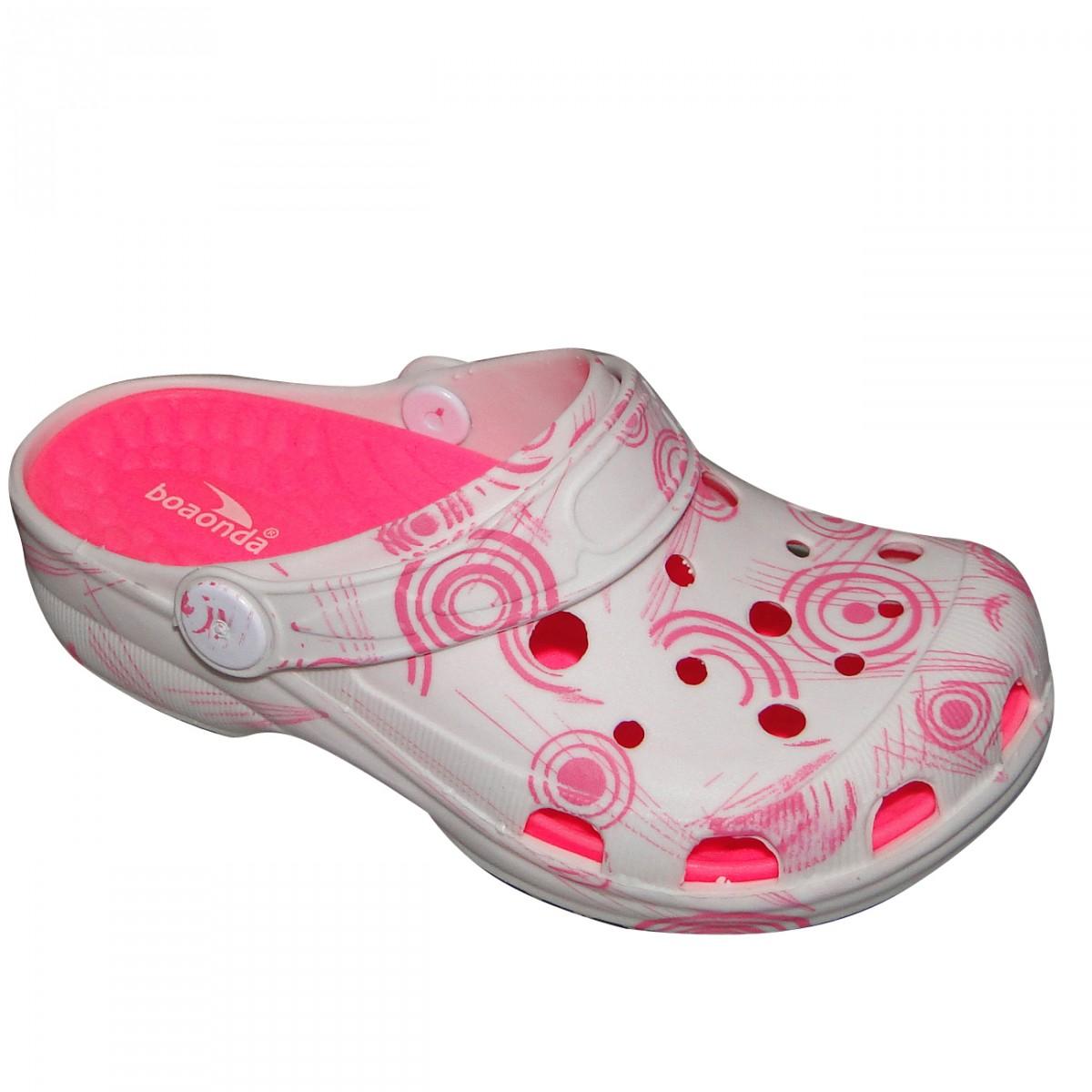 eb6a66a18c5 Crocs Boaonda Ref.3008 Infantil 4932 - BRANCO ROSA - Chuteira Nike ...