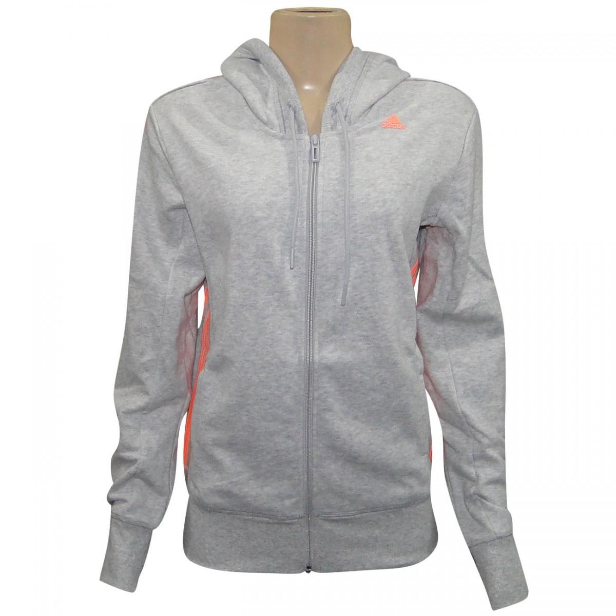 59284216e47 Jaqueta Adidas Ess Mid 3S Feminina S20946 - Mescla - Chuteira Nike ...