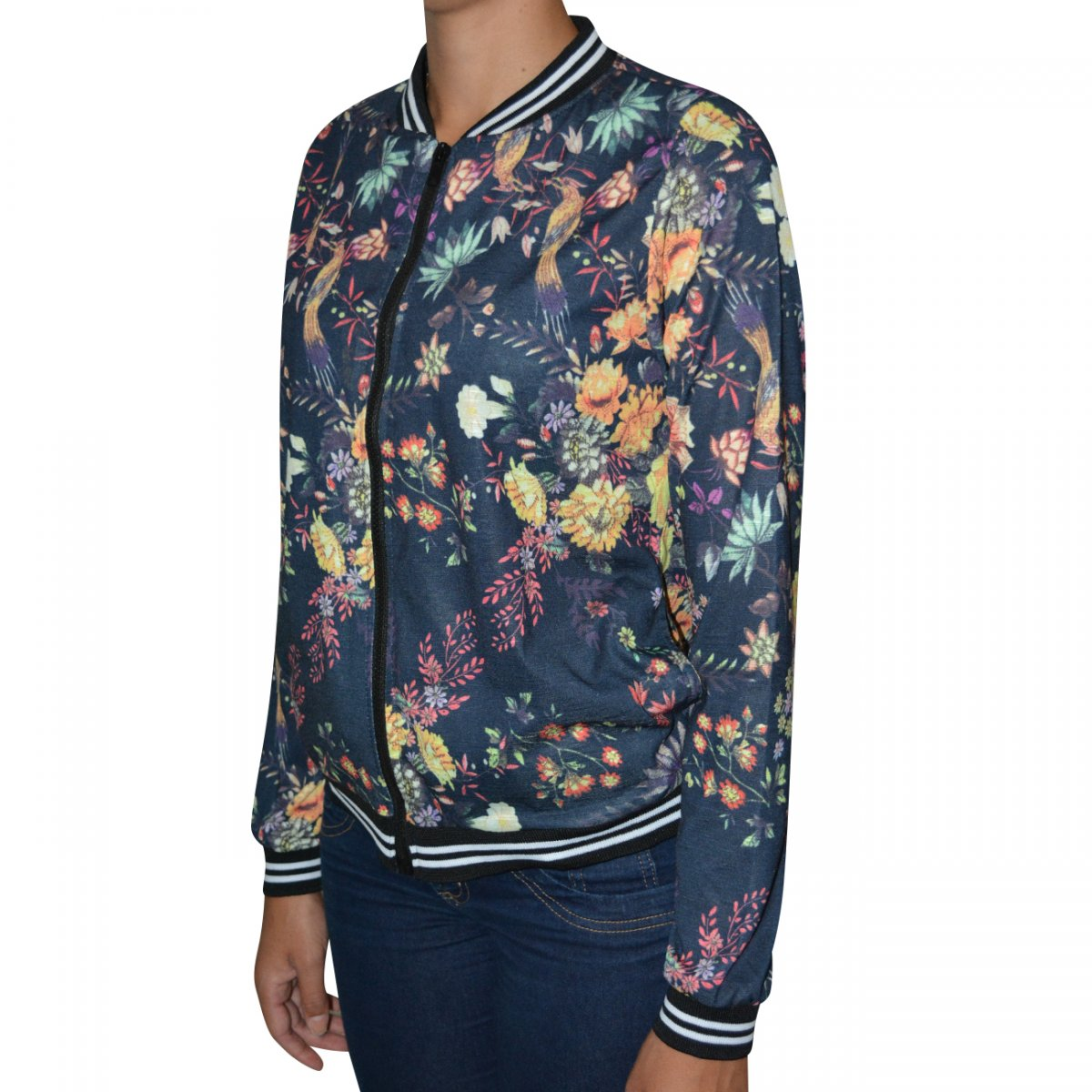 40c685ff9e6 Jaqueta Linha Leve Bomber Flame 3088 3088 - Floral - Chuteira Nike ...
