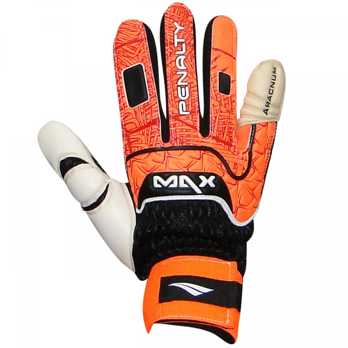 d74d6eada3 Luva Penalty Max Pro IV Futsal 620200968010 - Preto Laranja ...