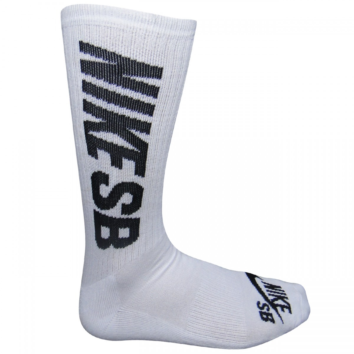 Meia Nike SB Sx 4919 Kit 3 Pares SX4919 101 - Branco Preto ... 0881a0fcf5ce4