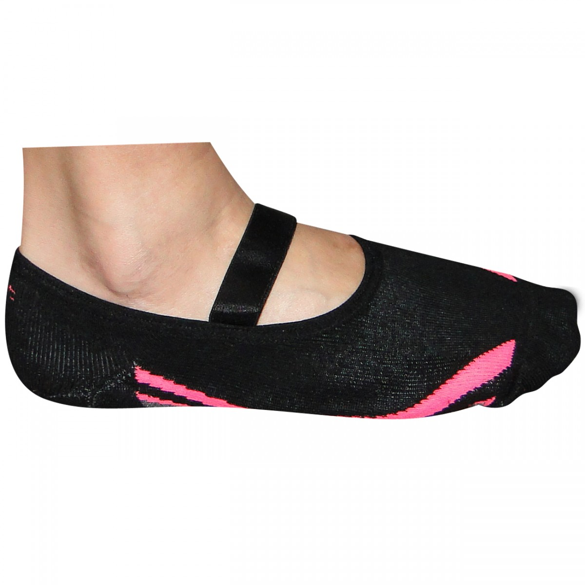 49299a429 Meia Puket Pilates CB8529 10601258-199 - Preto Pink - Chuteira Nike ...
