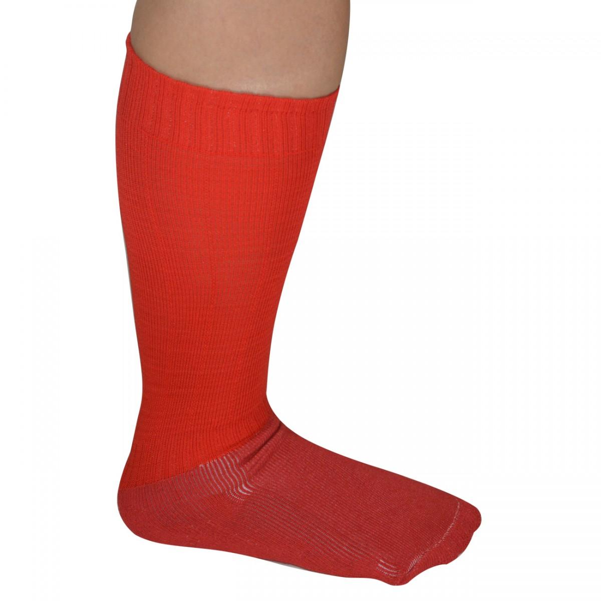 Meião Kanxa Infantil 6111 6111 - Vermelho - Chuteira Nike 5b5e0860a5557