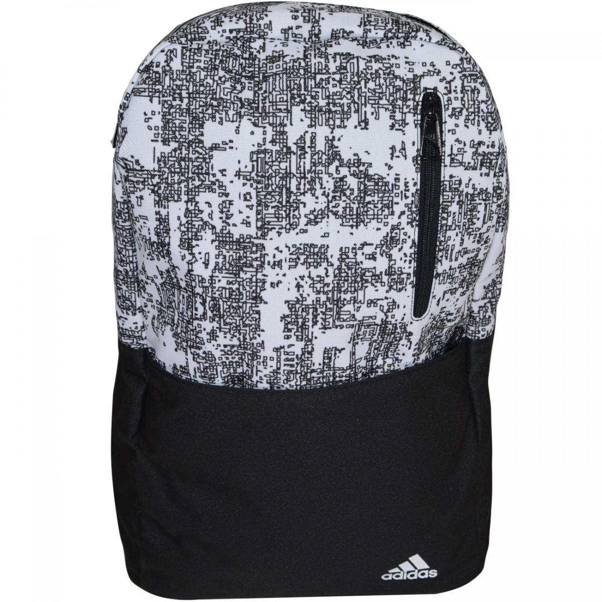 6ffe2874a Mochila Adidas Versatile BP G1 AY5130 - Preto/Branco - Chuteira Nike, Adidas.  Sandalias Femininas. Sandy Calçados