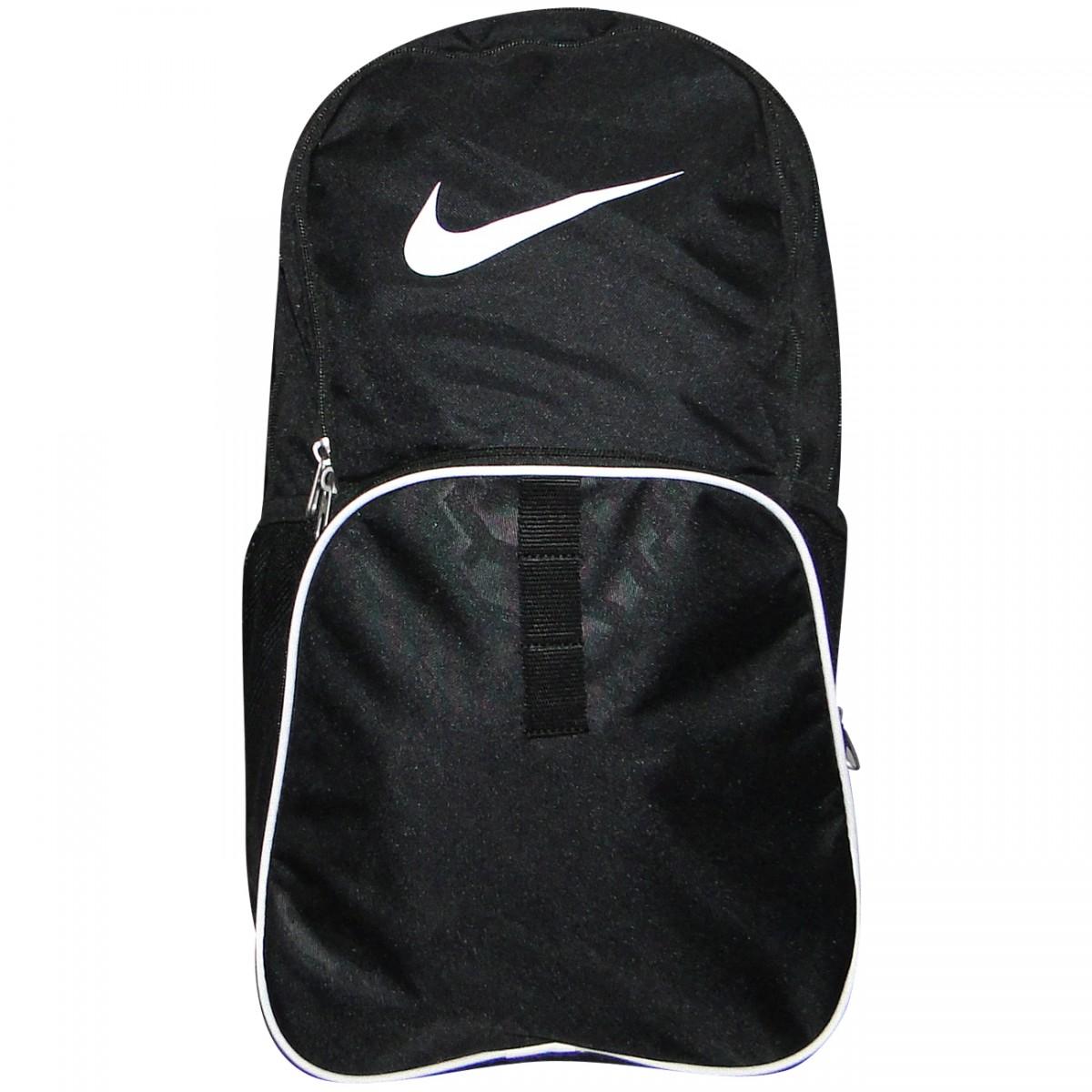 fc68211d6 Mochila Nike BA4718 BA4718 001 - Preto/Branco - Chuteira Nike, Adidas.  Sandalias Femininas. Sandy Calçados