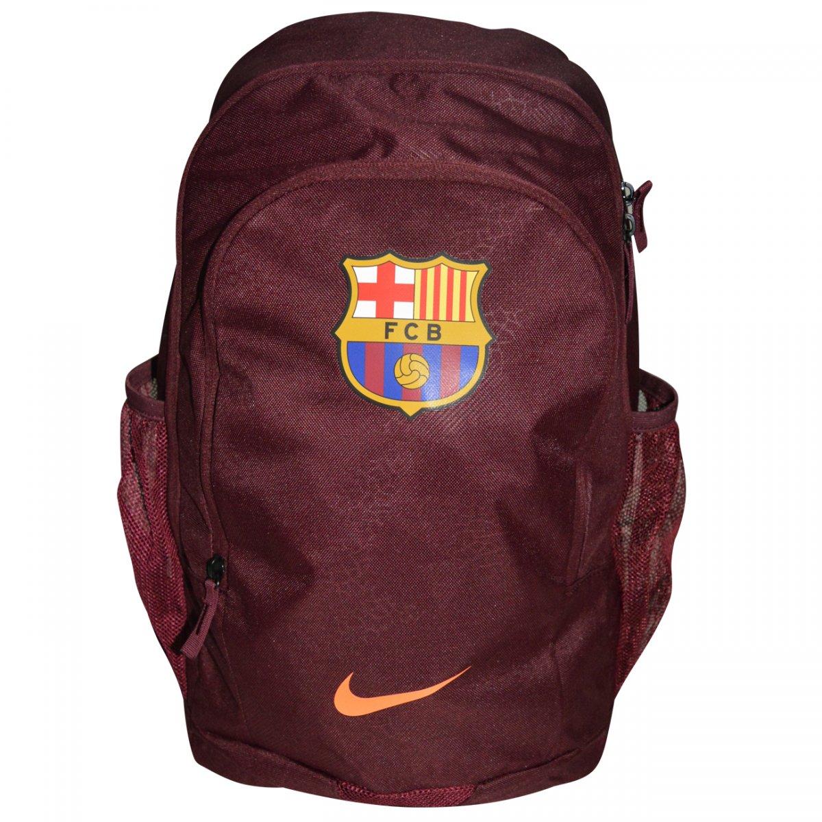 91b1bed48 Mochila Nike Barcelona BA5496 BA5496-622 - Bordô - Chuteira Nike, Adidas.  Sandalias Femininas. Sandy Calçados