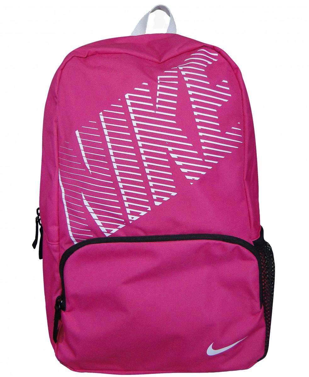 4adeed576 Mochila Nike Ref. BA4865 BA4865 - 616 - Pink/Branco - Chuteira Nike, Adidas.  Sandalias Femininas. Sandy Calçados