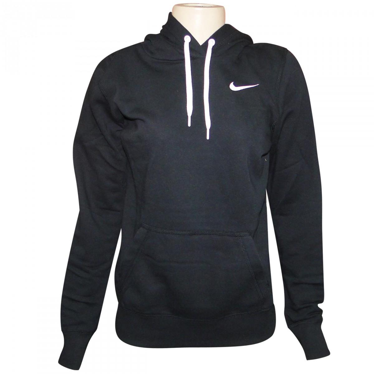 2ced4303fa Moletom Nike 611717 611717 010 - Preto Branco - Chuteira Nike ...