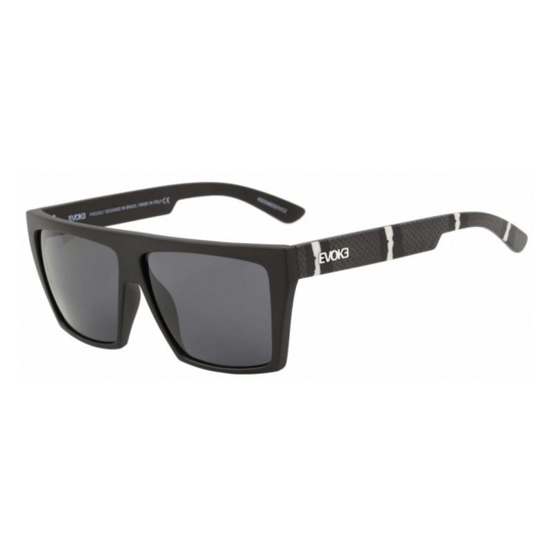 efafcf9819f63 Oculos Evoke EVK15 EVK15 SNK A01 - Black Snake Silver Gray - Chuteira Nike