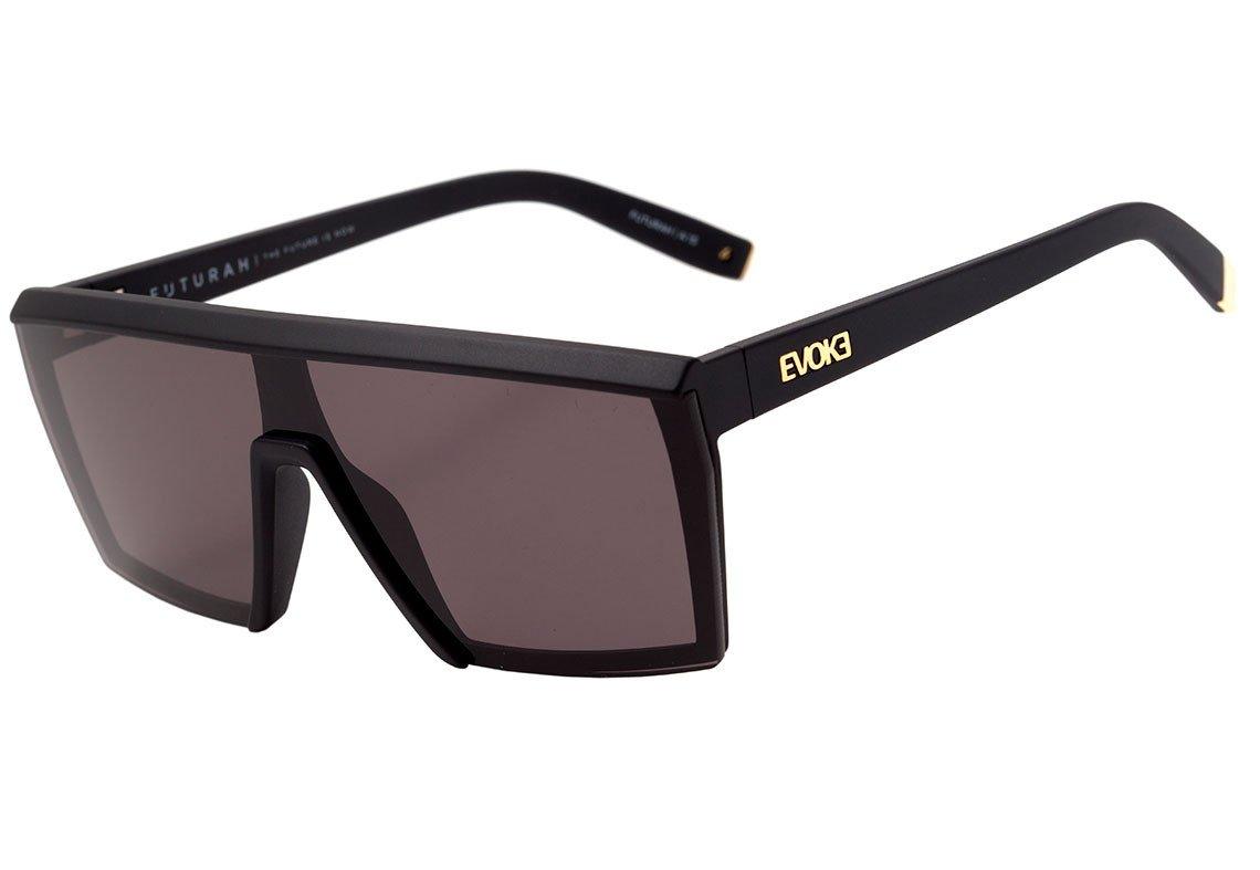 baa280cb1 Oculos Evoke Futurah TA21 - Preto/gloss/gold/brown - Chuteira Nike, Adidas.  Sandalias Femininas. Sandy Calçados