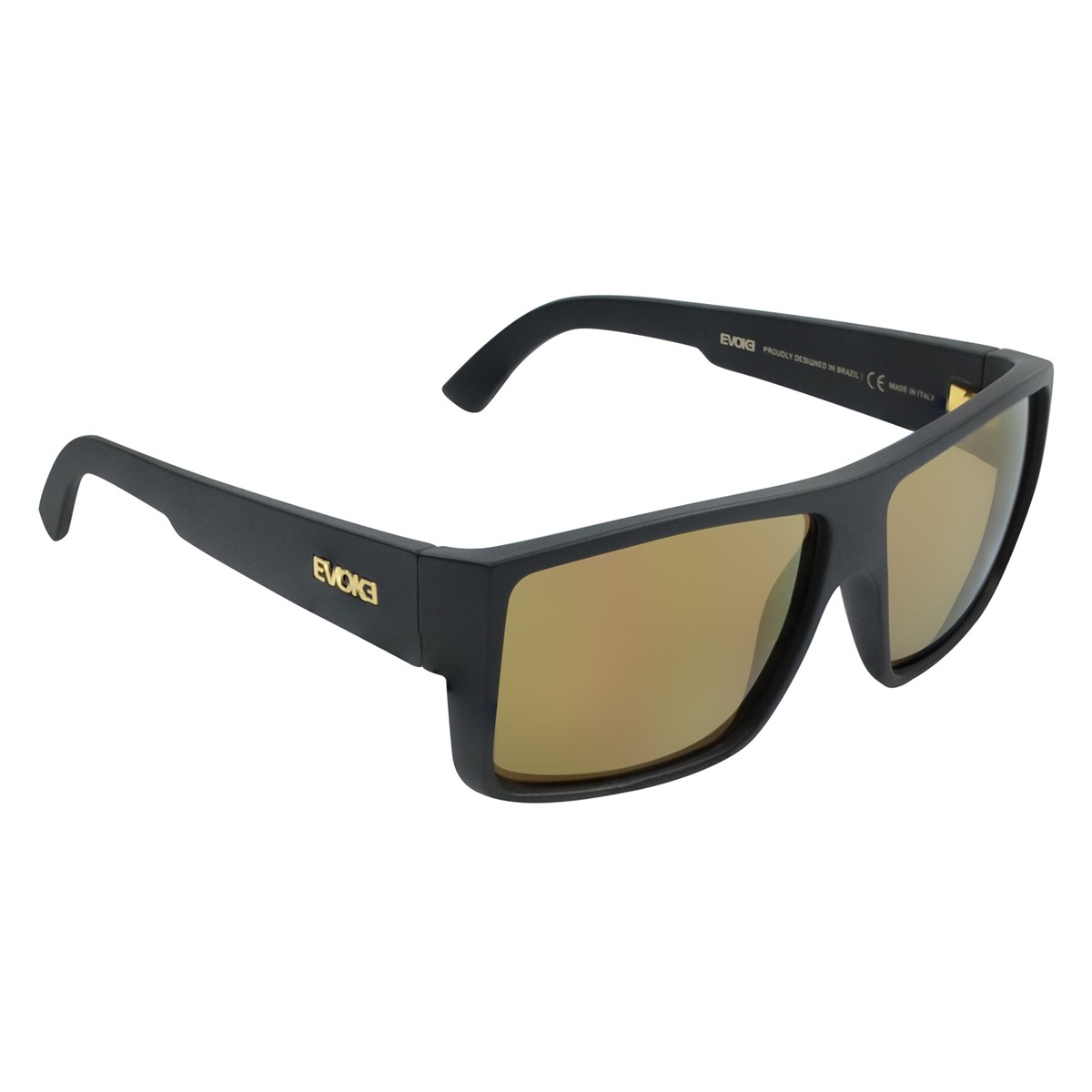 1658b0714fe4f Oculos Evoke The Code A01GS - Black Matte Gold Gold - Chuteira Nike ...