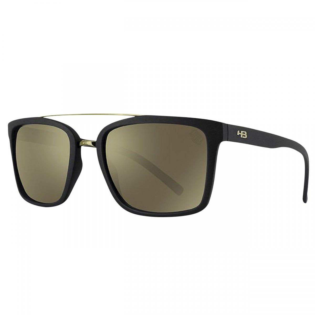 Oculos HB Spencer Espelhado 9013000189 - Preto fosco gold - Chuteira Nike,  Adidas. Sandalias Femininas. Sandy Calçados 14c1900a3c