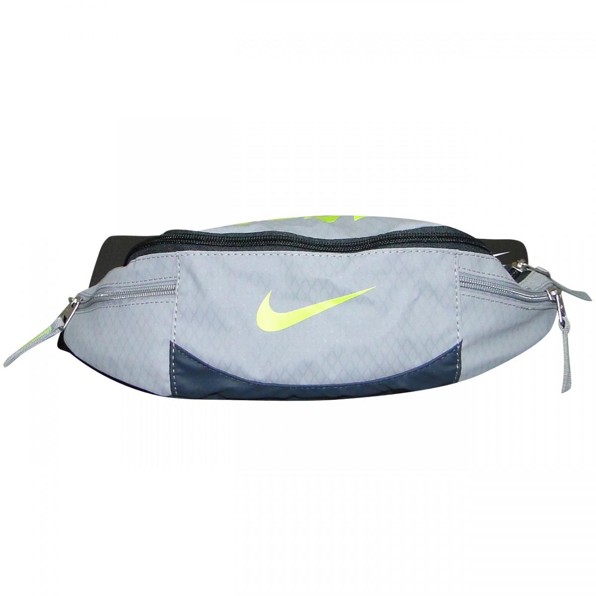 b348b3263 Pochete Nike ref.4601 BA4601 078 - Cinza/Limão - Chuteira Nike ...