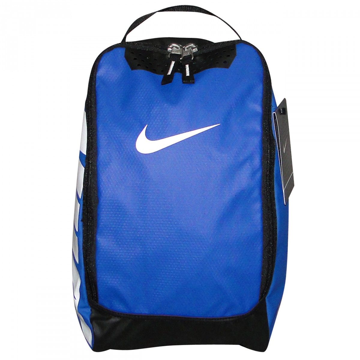 19c09c0b9ef97 Porta Chuteira Nike Ref.Ba4600 BA4600-041 - Azul Branco - Chuteira ...