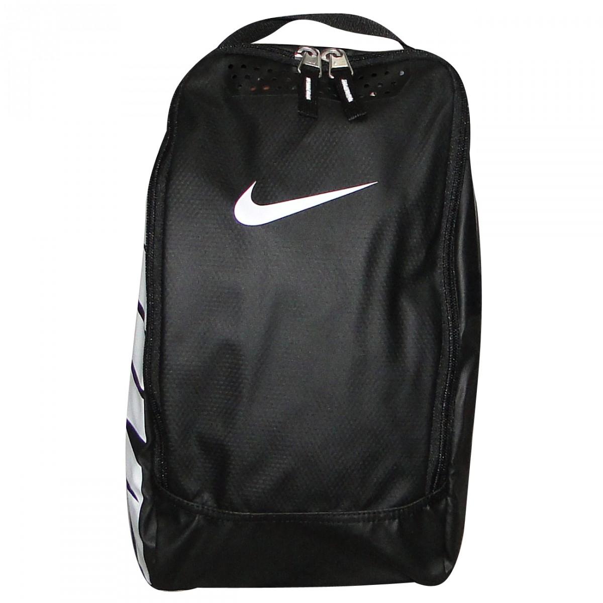 820d6689a8c6b Porta Chuteira Nike Ref.Ba4600 BA4600-067 - Preto/Branco - Chuteira Nike,  Adidas. Sandalias Femininas. Sandy Calçados