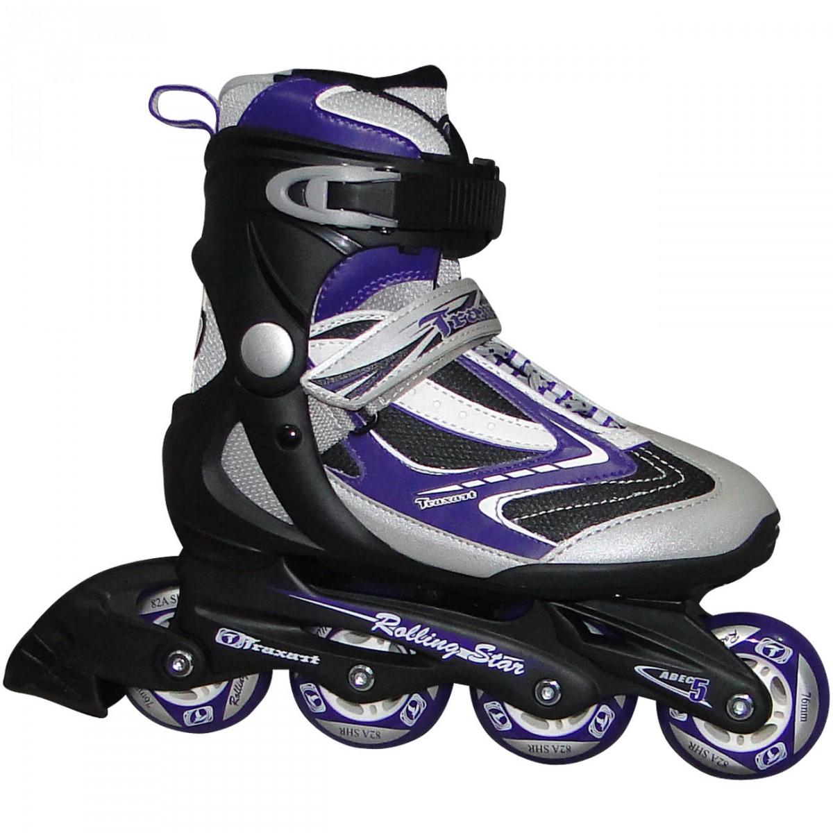 de38061598834 Roller Traxart Rolling Star IN-195 - Preto Uva - Chuteira Nike ...