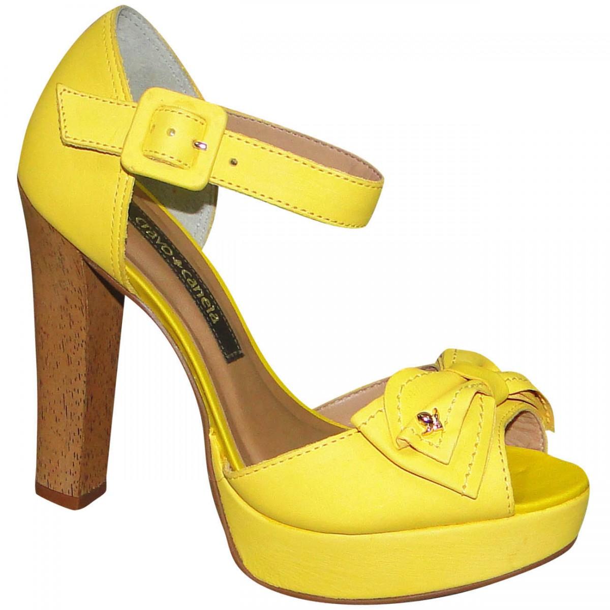 ba3b66f68 Sandalia Cravo e Canela 133601 133601-5 - Amarelo - Chuteira Nike ...