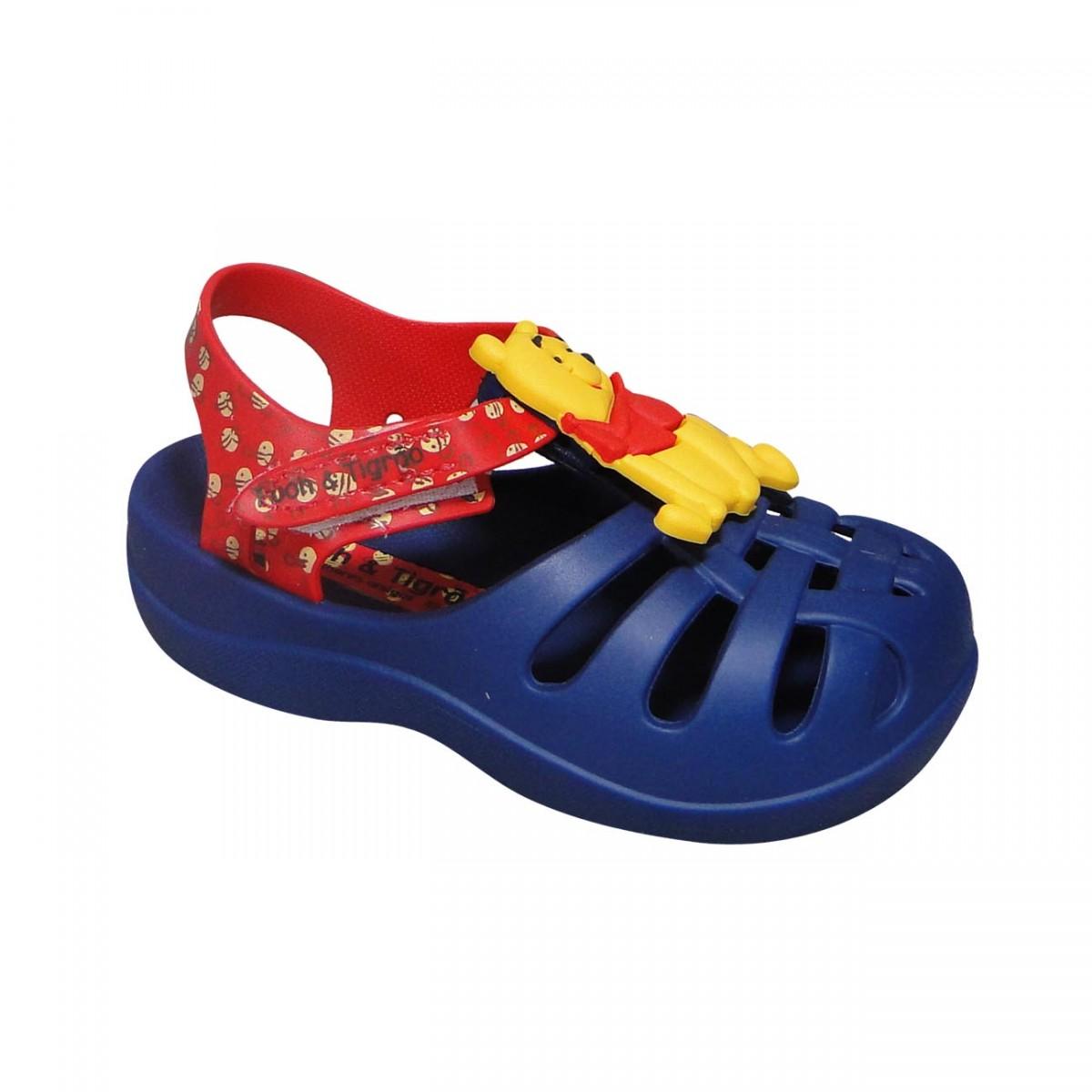 827fef2353e Sandalia Disney Buddies 21341 Infantil 21341 24049 - Azul Vermelho ...