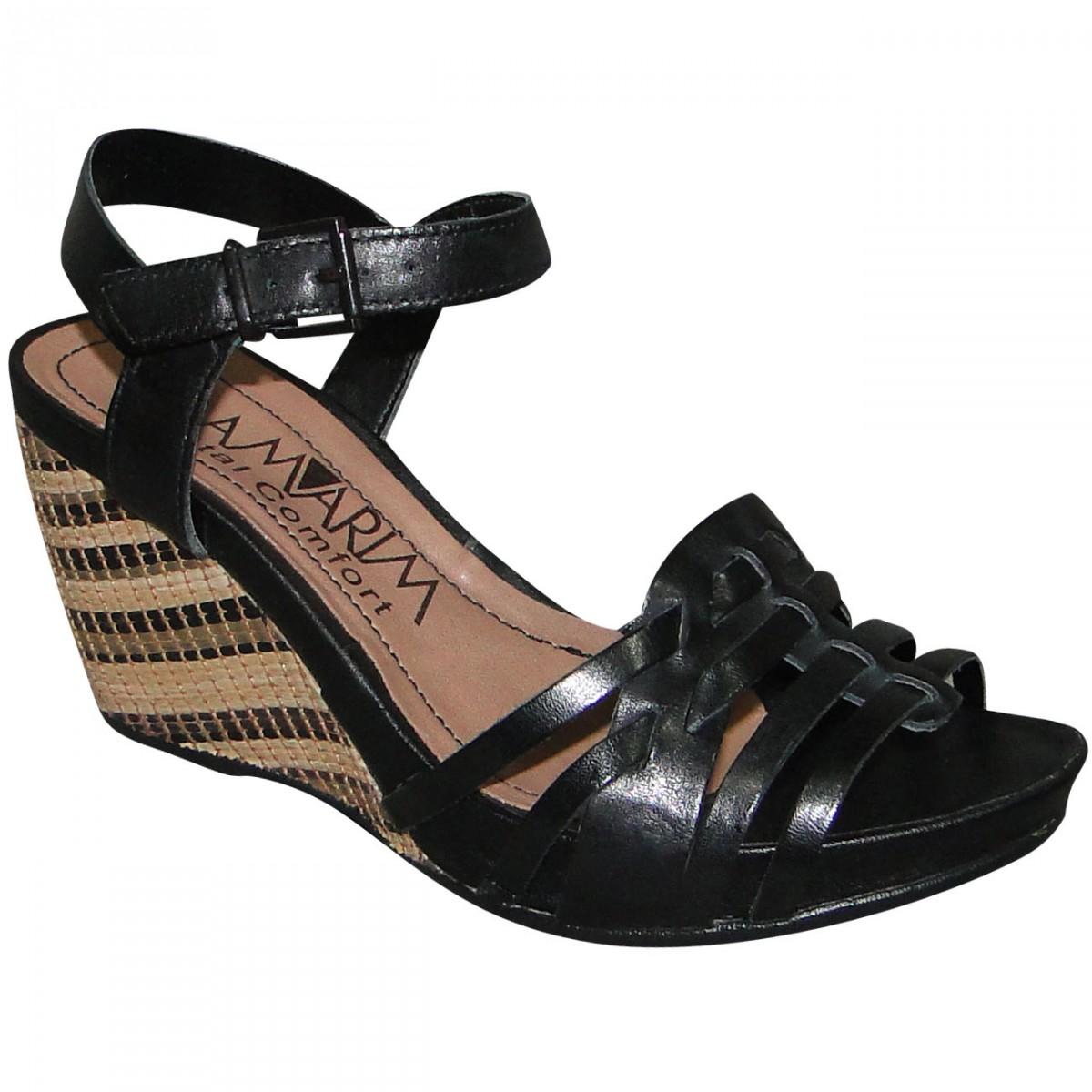 18185a51e Sandalia Ramarim 1412205 1412205 - Preto - Chuteira Nike, Adidas. Sandalias  Femininas. Sandy Calçados
